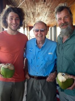 Clayton, Grandad JW and Mike